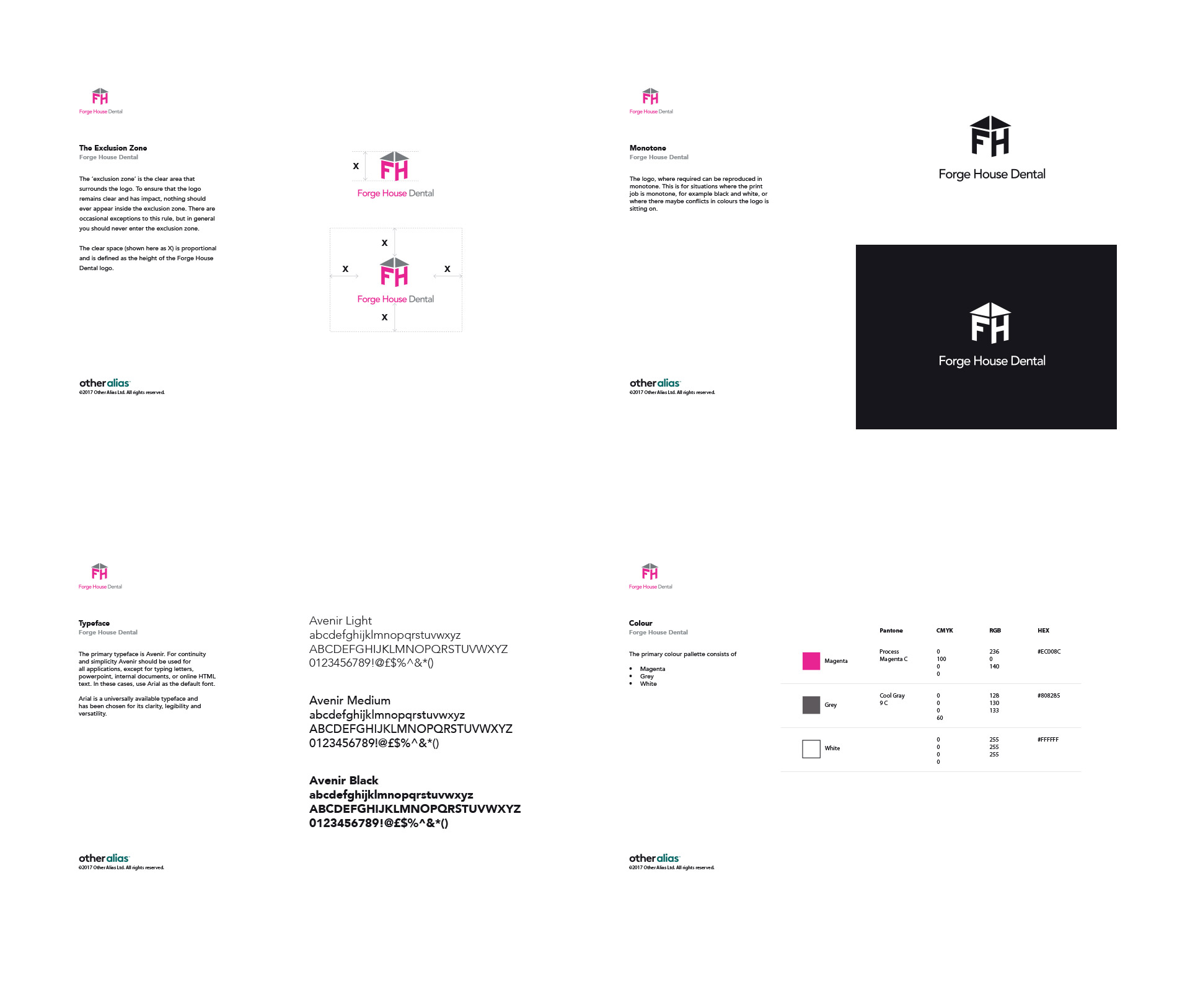 Forge House Dental Brand Guidelines