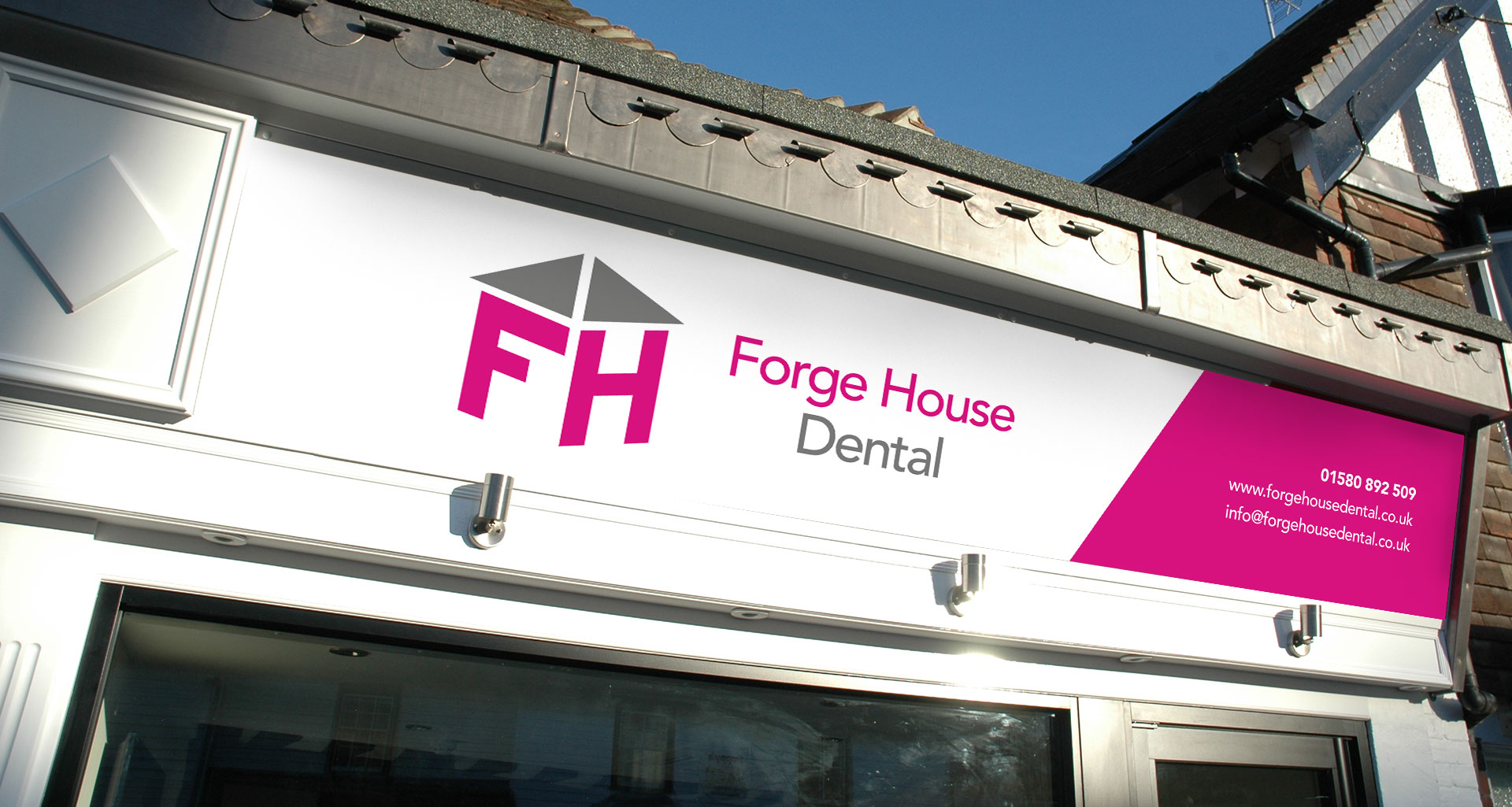 Forge House Dental Signage