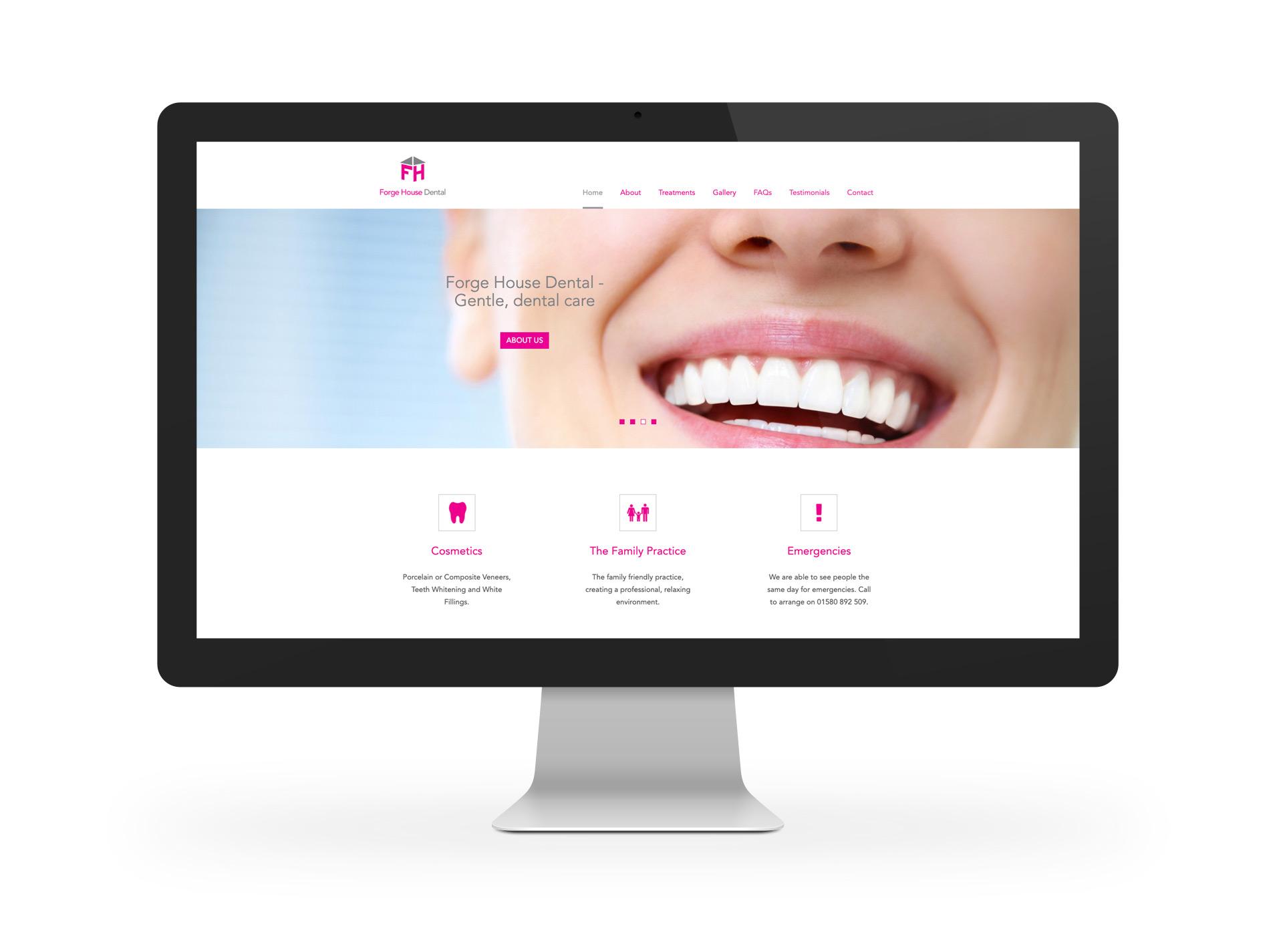 Forge House Dental Website